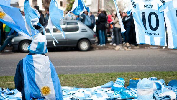 Previa a un partido de fútbol de Argentina - Sputnik Mundo