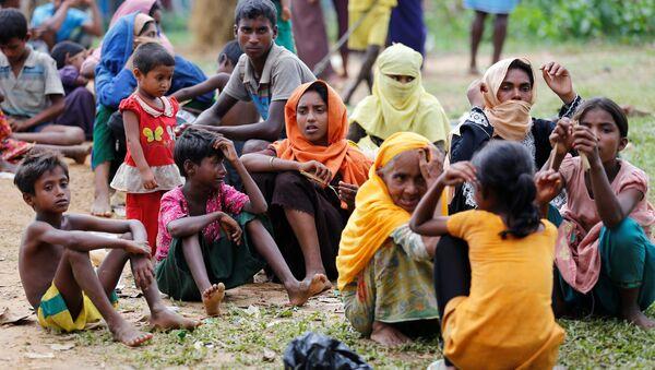 Los refugiados rohingyas en Bangladés (archivo) - Sputnik Mundo