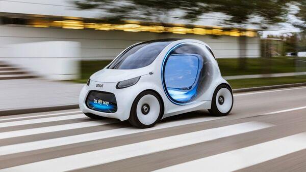 Smart Vision EQ Fortwo, automóvil eléctrico - Sputnik Mundo
