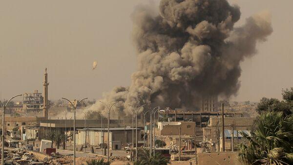 Situación en Al Raqa, Siria (archivo) - Sputnik Mundo