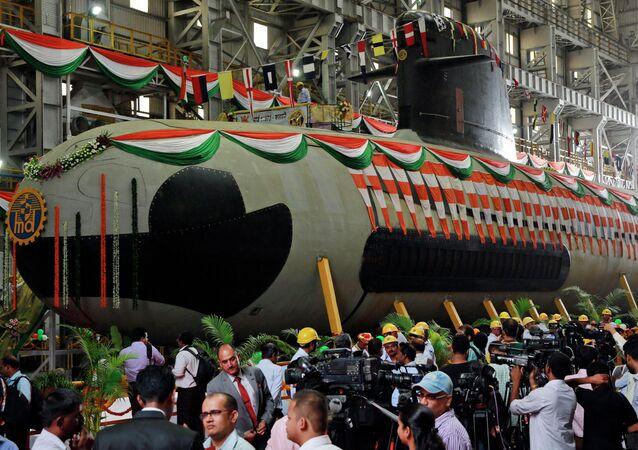Un submarino indio (srchivo)