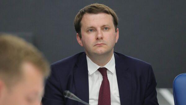 Maxim Oreshkin, ministro de Desarrollo Económico de Rusia - Sputnik Mundo