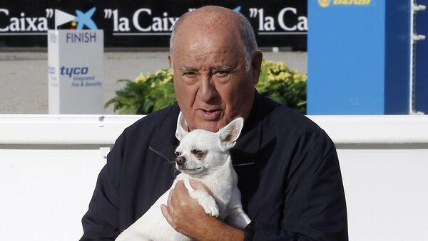 Amancio Ortega, fundador y propietario de Inditex - Sputnik Mundo