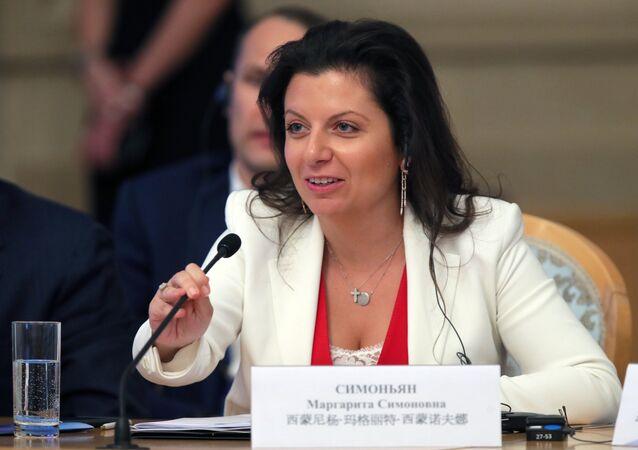 Margarita Simonián, la directora de Sputnik