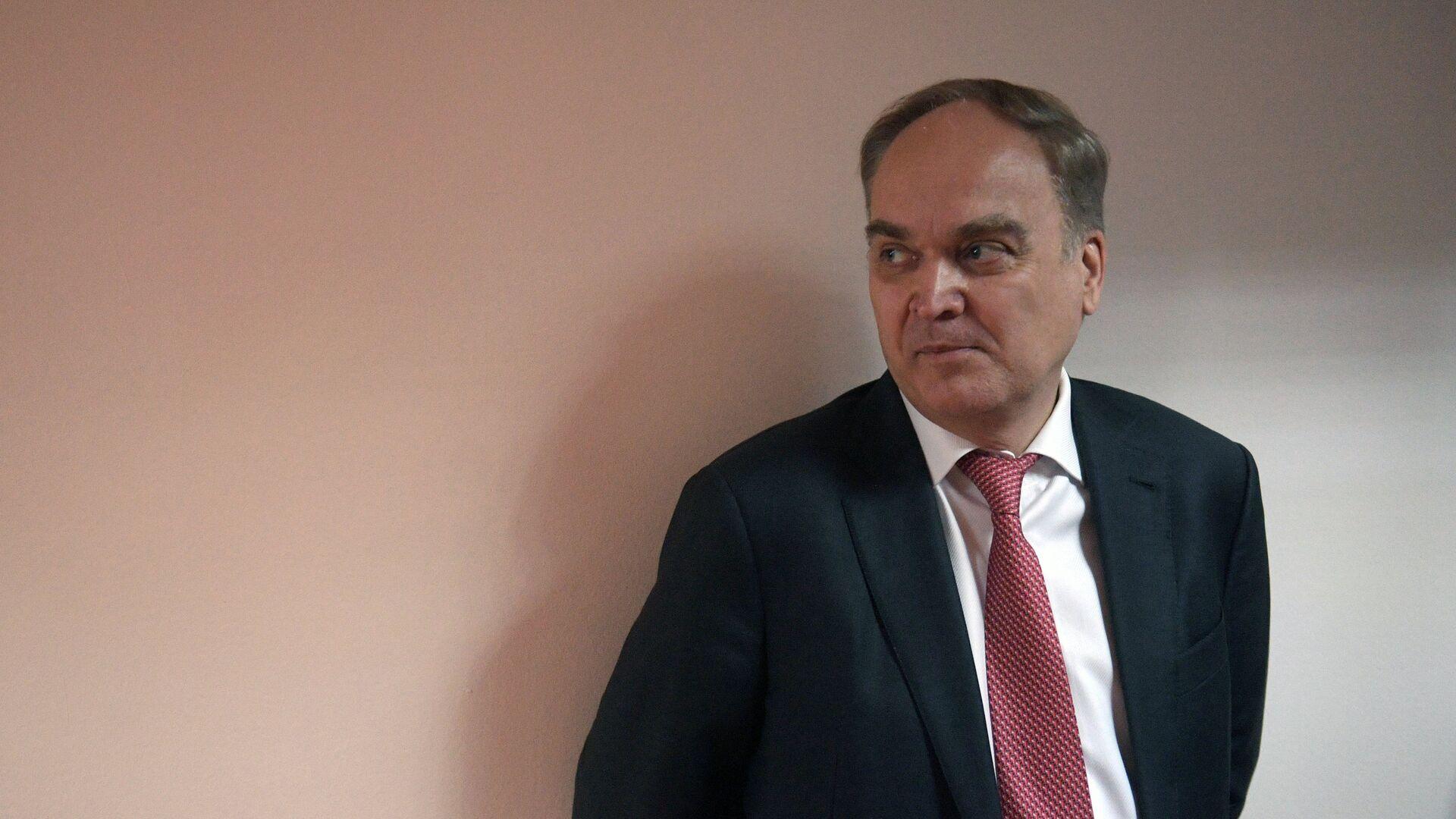 El embajador de Rusia en EEUU, Anatoli Antónov - Sputnik Mundo, 1920, 05.03.2021