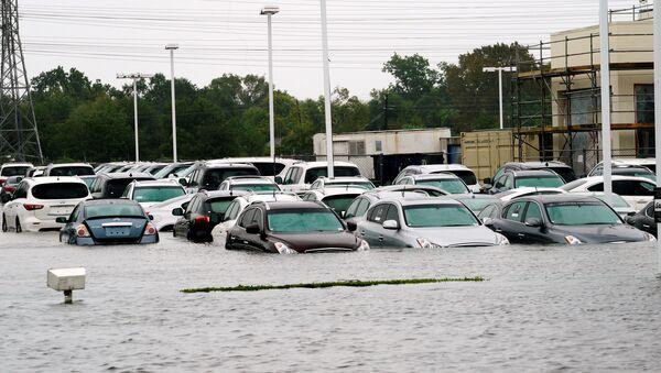 Consecuencias del huracán Harvey - Sputnik Mundo