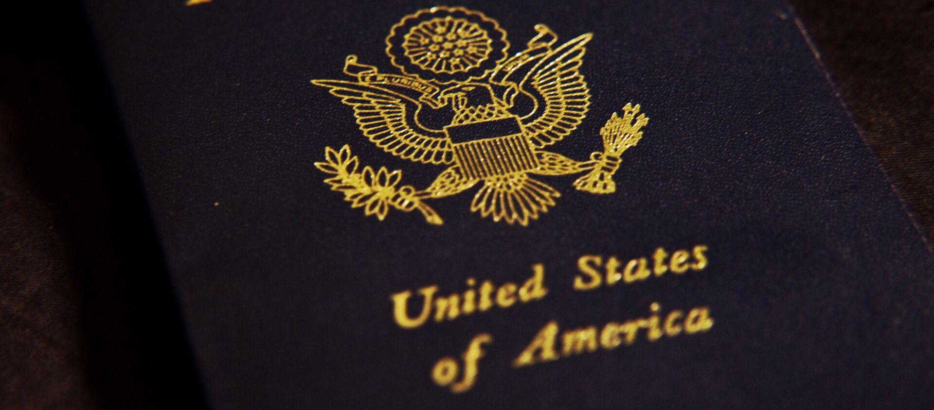 Pasaporte de EEUU (imagen referencial) - Sputnik Mundo, 1920, 19.01.2021
