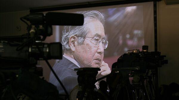 Alberto Fujimori, expresidente de Perú - Sputnik Mundo