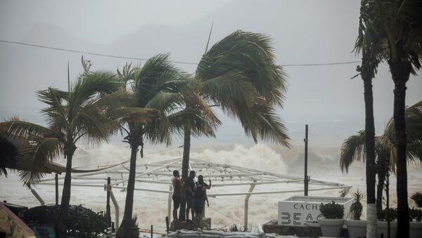 Tormenta tropical en México (Archivo) - Sputnik Mundo