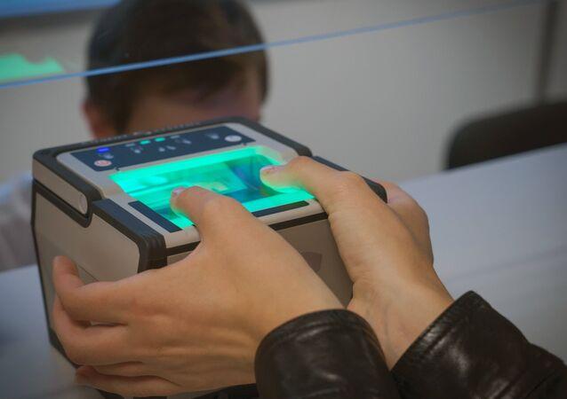 Control biométrico (imagen referencial)