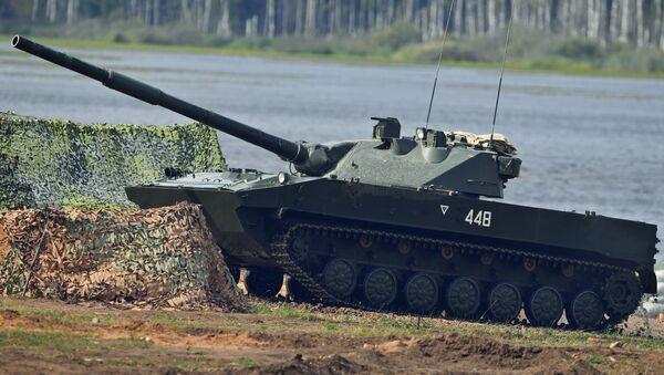 Destructor de tanques Sprut-SD (archivo) - Sputnik Mundo