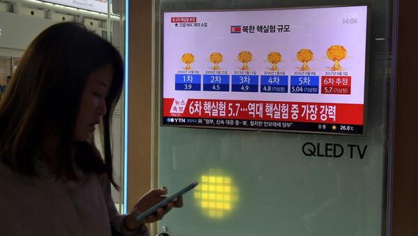 Las pruebas nucleares de Corea del Norte - Sputnik Mundo