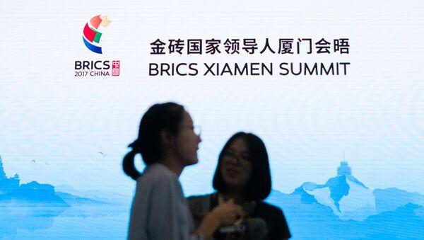 La cumbre de BRICS en Xiamen, China - Sputnik Mundo