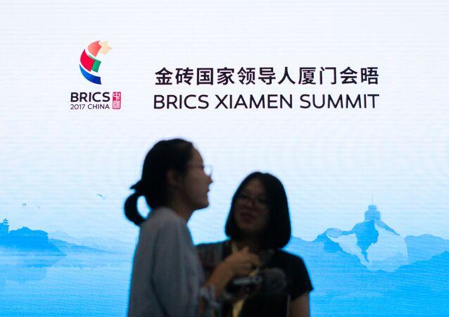 La cumbre de BRICS en Xiamen, China