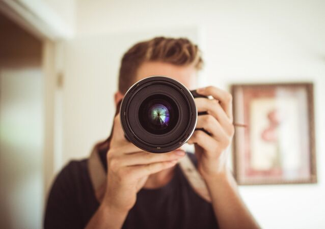 Un fotógrafo (archivo)