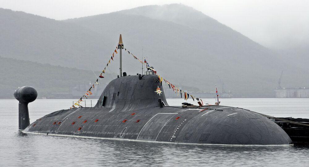 Submarino nuclear ruso de clase Akula