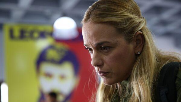 Lilian Tintori, esposa de Leopoldo Lopez - Sputnik Mundo