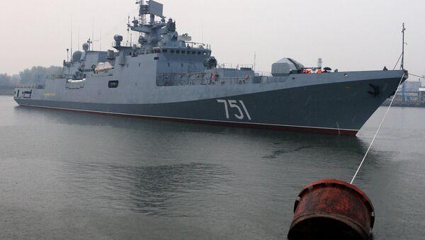 La fragata Almirante Essen (archivo) - Sputnik Mundo