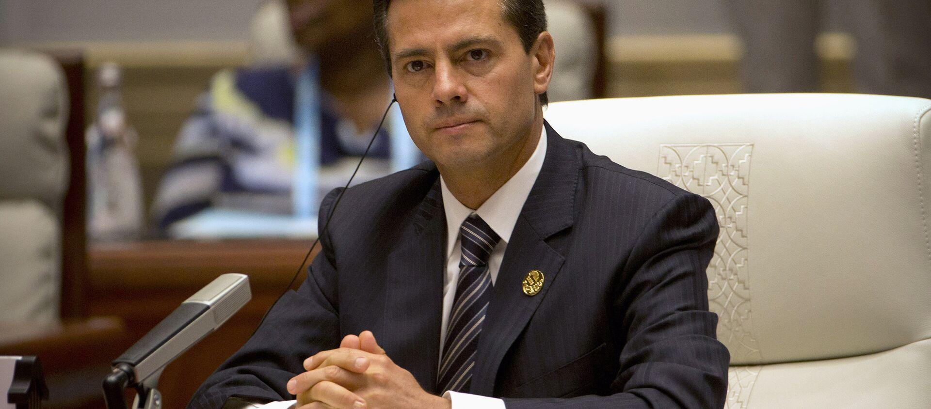 Enrique Peña Nieto, presidente de México, en la cumbre de BRICS - Sputnik Mundo, 1920, 12.11.2020