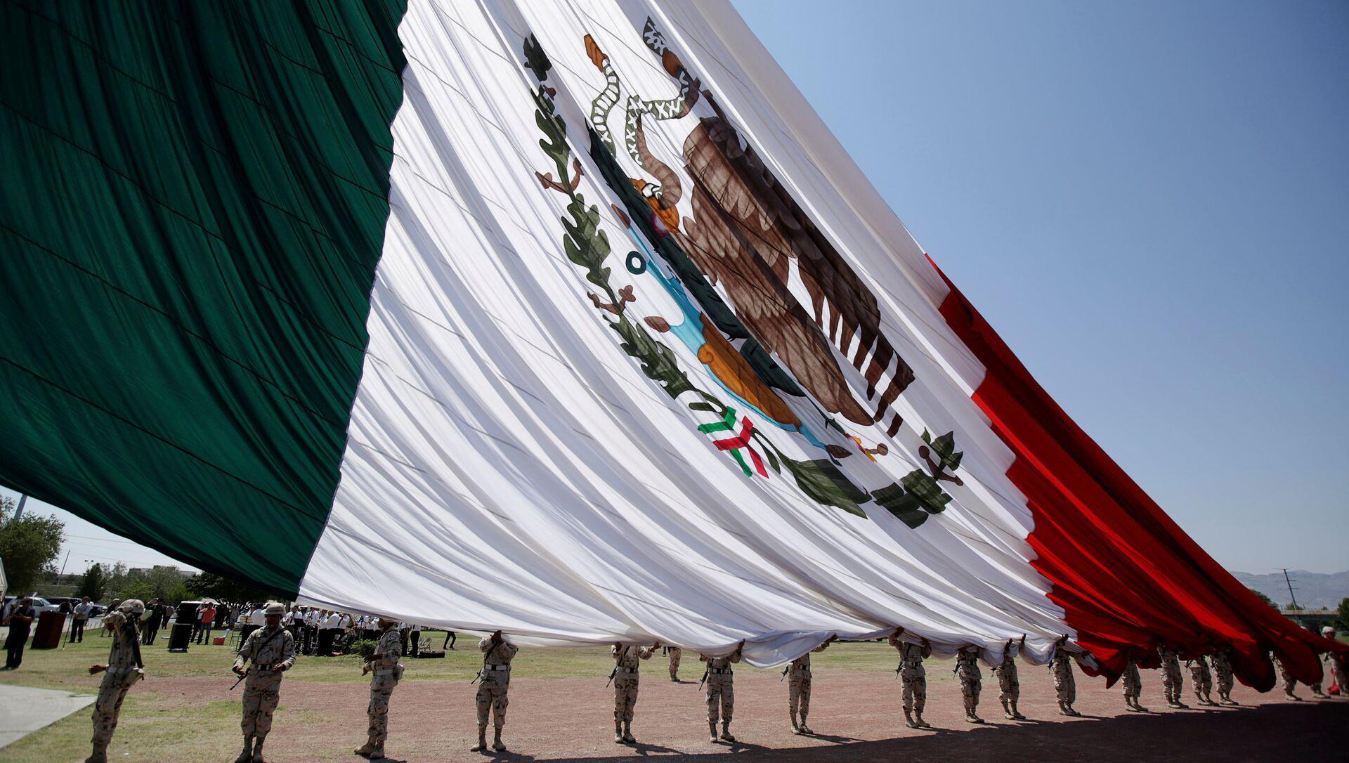 La bandera de México - Sputnik Mundo, 1920, 09.08.2019