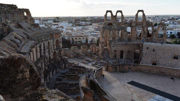 La ciudad de El Djem, Túnez (imagen referencial) - Sputnik Mundo
