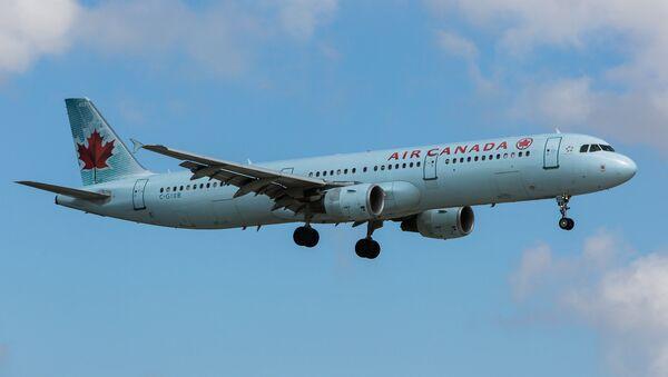 Un avión de Air Canada (archivo) - Sputnik Mundo