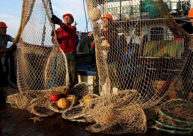 Pesca en Rusia