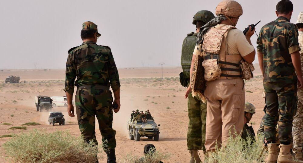 El Ejército sirio (archivo)