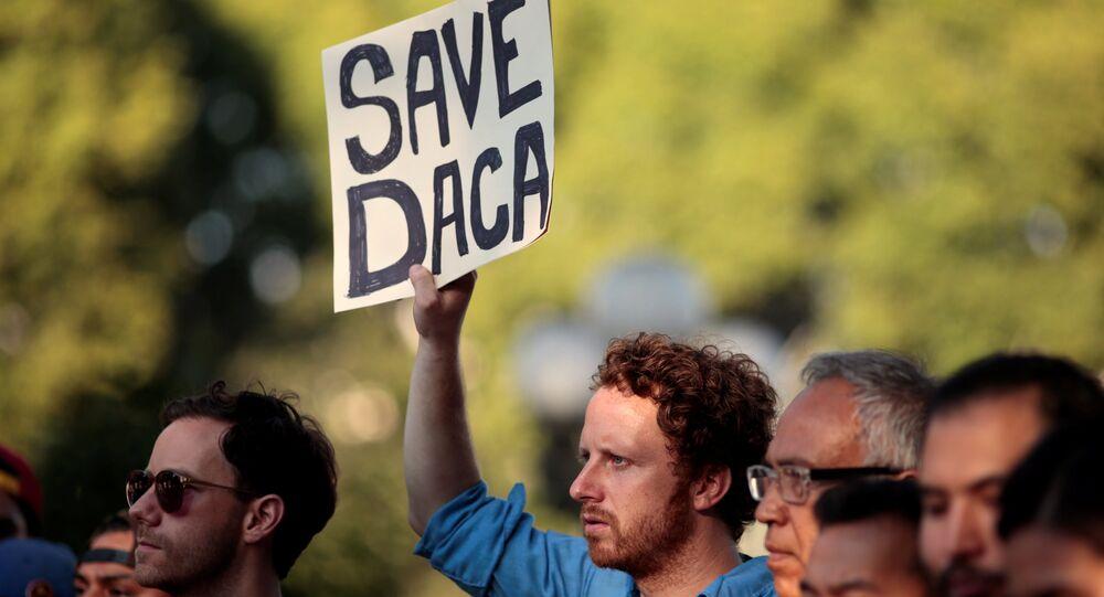 La manifestación a favor de DACA en EEUU (Archivo)