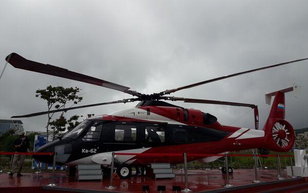 Helicóptero ruso Ka-62 - Sputnik Mundo