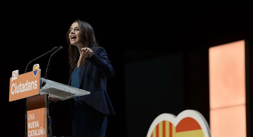 Inés Arrimadas, líder de la oposición en Cataluña (archivo)