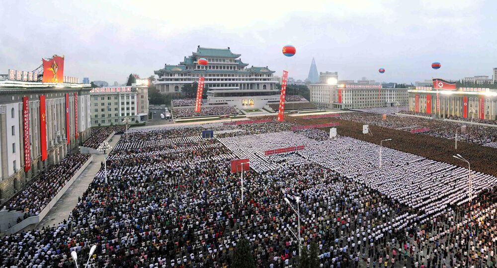 Las celebraciones en Pyongyang tras el exitoso ensayo de la bomba de hidrógeno