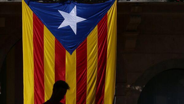 Estelada, bandera independentista de Cataluña (archivo) - Sputnik Mundo