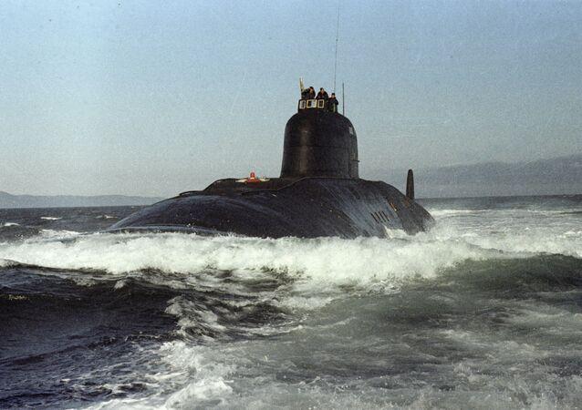 El submarino '50 años a la URSS', 1974