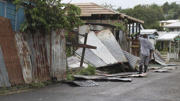 Consecuencias del huracán Irma en Antigua y Barbuda - Sputnik Mundo