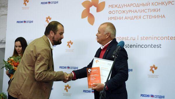 Alejandro Martínez Vélez, ganador del Concurso Andrei Stenin - Sputnik Mundo