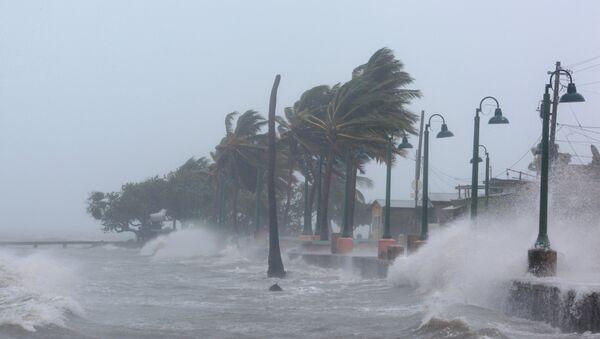 El paso del huracán Irma en República Dominicana - Sputnik Mundo