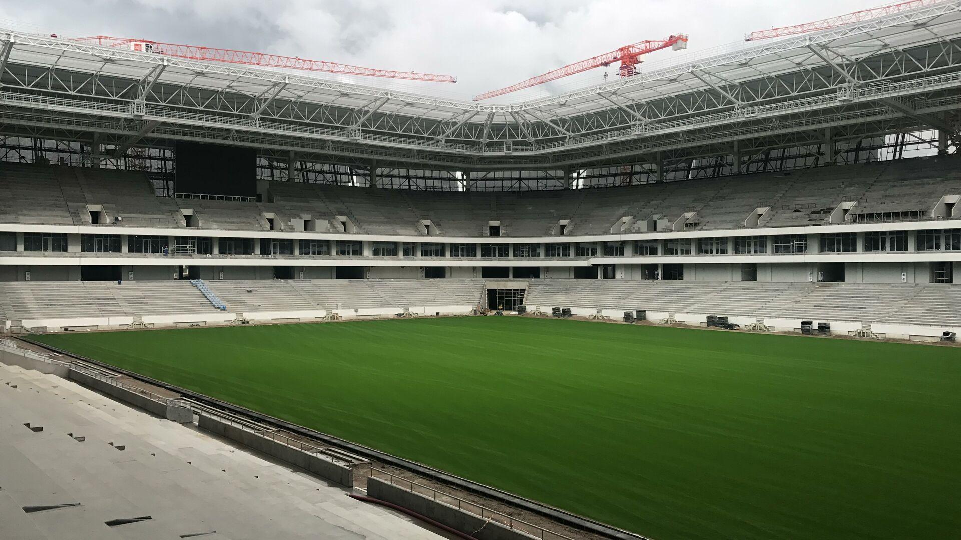 El campo de fútbol del Estadio de Kaliningrado - Sputnik Mundo, 1920, 13.03.2021