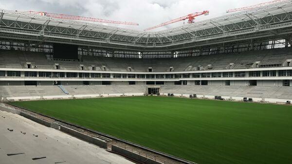 El campo de fútbol del Estadio de Kaliningrado - Sputnik Mundo