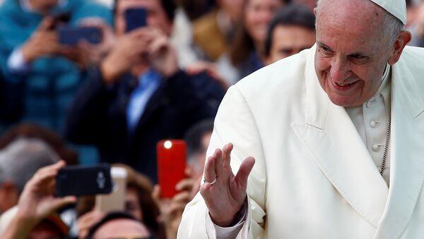 El Papa Francisco en Bogotá, Colombia - Sputnik Mundo