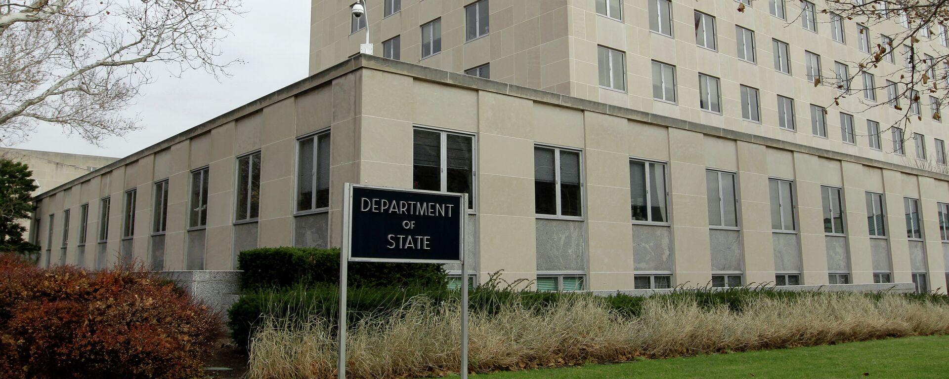 Departamento de Estado de EEUU - Sputnik Mundo, 1920, 29.07.2021