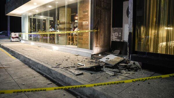 Consecuencias del terremoto en México (archivo) - Sputnik Mundo