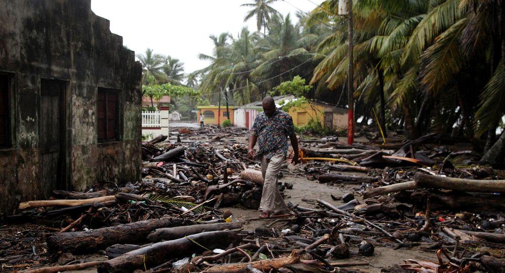 El huracán Irma en República Dominicana