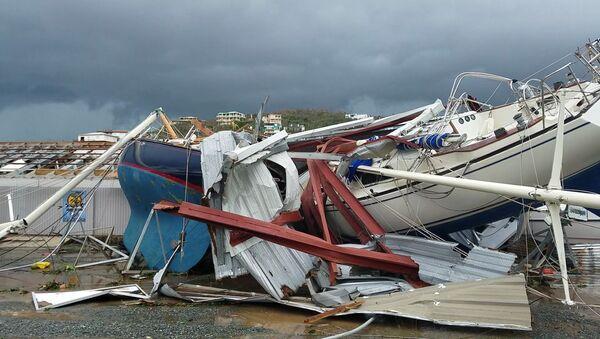 Las consecuencias del huracán Irma en las Islas Vírgenes - Sputnik Mundo