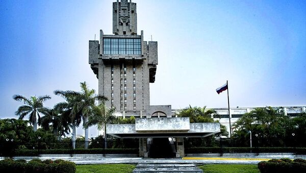 La embajada de Rusia en Cuba - Sputnik Mundo