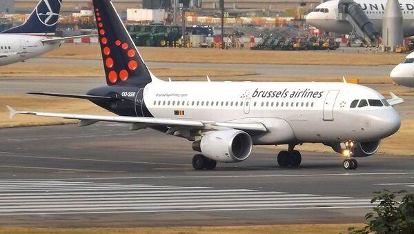 Un avión de Brussels Airlines (archivo) - Sputnik Mundo
