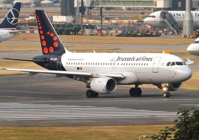Un avión de Brussels Airlines (archivo)
