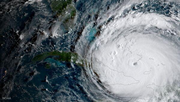 El huracán Irma - Sputnik Mundo