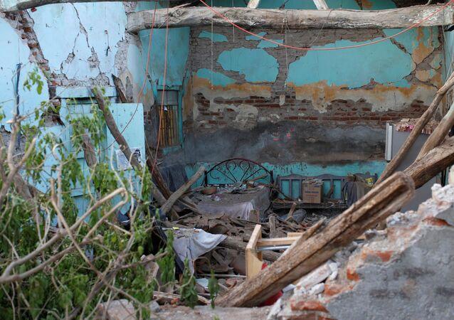 Las consecuencias del terremoto del 7 de septiembre en México