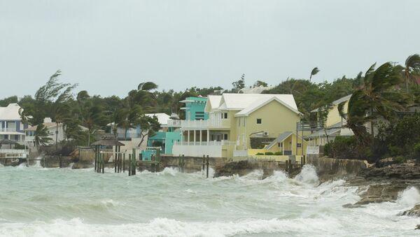 El huracán Irma en las Bahamas - Sputnik Mundo